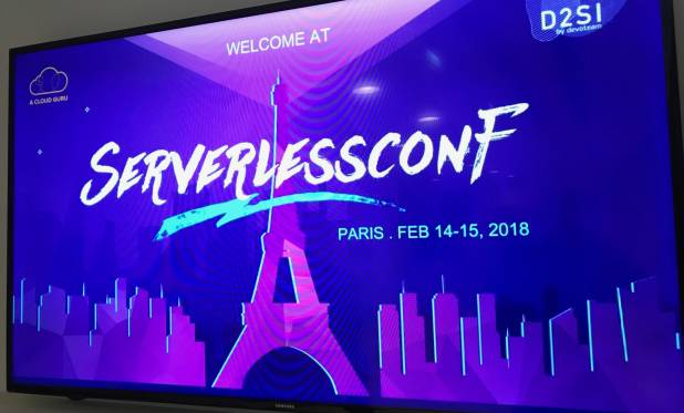 Gestion de l'accueil des visiteurs du Salon Server Less Conf à Paris